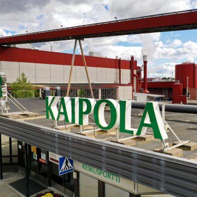 Kuvassa on Kaipolan paperitehdas Jämsässä.