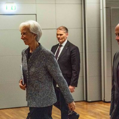 Christine Lagarde, EKP