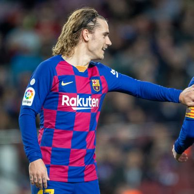 Antoine Griezmann ja Lionel Messi