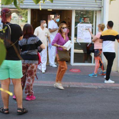 Vallecasin San Diegon terveyskeskuksessa testatuista yli puolella on koronavirus.