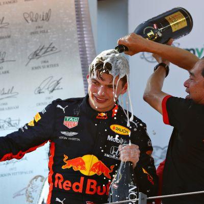 Max Verstappen Honda
