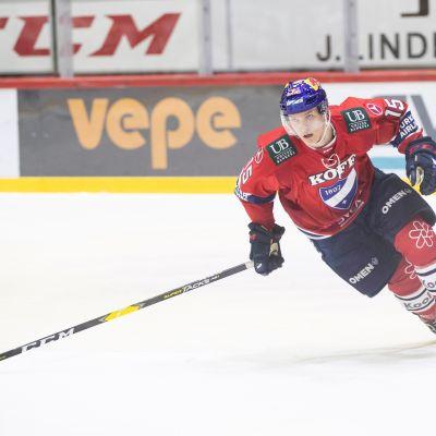 Anton Lundell kuvassa