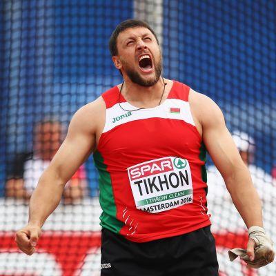 Monissa liemissä keitetty moukarikarju Ivan Tihon on Valko-Venäjän yleisurheiluliiton uusi puheenjohtaja.