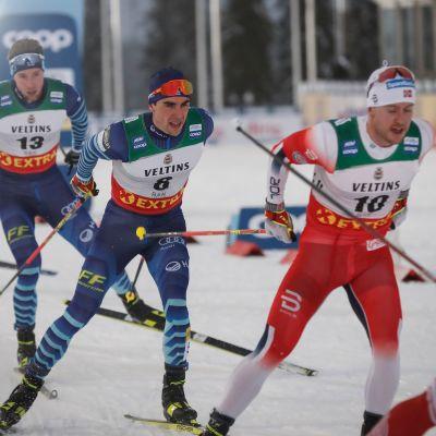 Joni Mäkeä, Ristomatti Hakolaa ja Norjan Sindre Björnestad Skaria ei nähdä maailmancupissa enää tämän vuoden puolella.