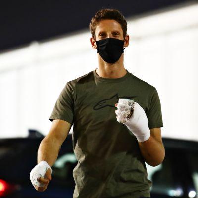 Romain Grosjean kuvassa