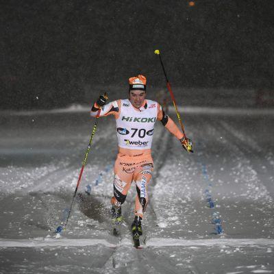 Ristomatti Hakola Suomen cupissa Vantaalla 12.1.2021.