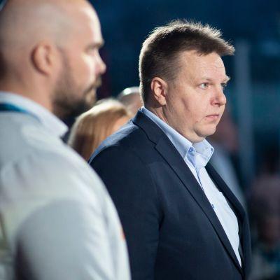 Harri Nummela, Jääkiekkoliiton puheenjohtaja