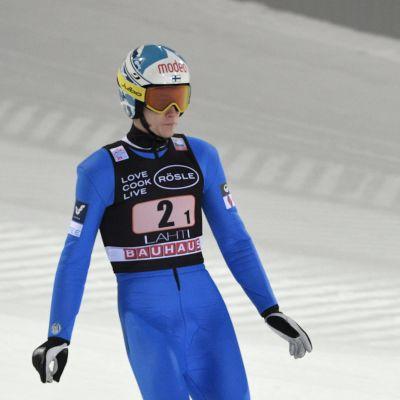 Antti Aalto Lahden Salpausselällä.
