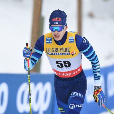 Alexander Ståhlberg STT Lehtikuva 12.2.2021