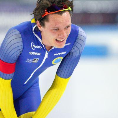 Nils van der Poel, ruotsalainen pikaluistelutähti