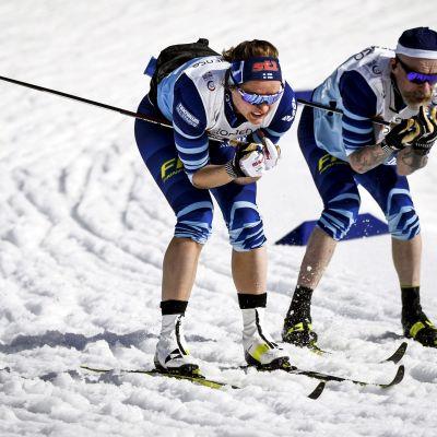 Katri Lylynperä ja Heikki Alakärppä