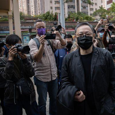 Hongkong demokratia-aktivisti Benny Tai Yiu-ting