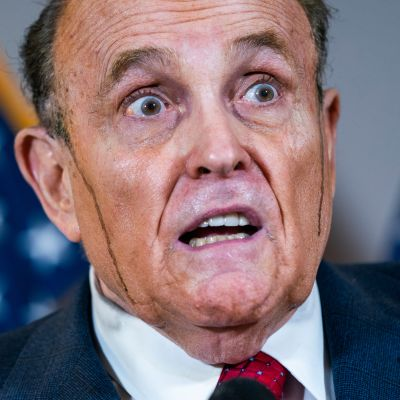 New Yorkin entinen pormestari Rudy Giuliani.