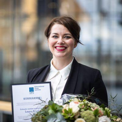Erätauko-säätiön toimitusjohtaja Laura-Arikka