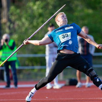 Toni Kuuselan nimissä on kauden kotimainen kärkitulos 85,03.
