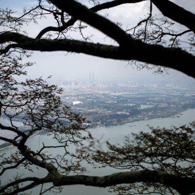 Kunmingin kaupunki maisemakuvassa