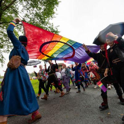 Sápmi Pride 2019.