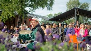Publiken diggar jazz på We Jazz X Lonna, juli 2018