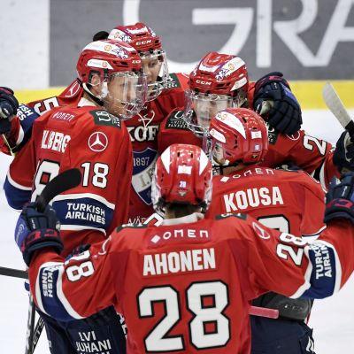 HIFK firar mål