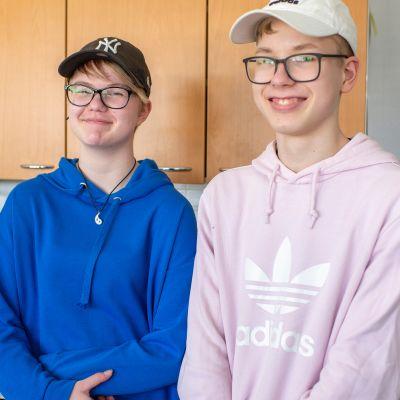 Marika Kokko ja Eemeli Klapuri.