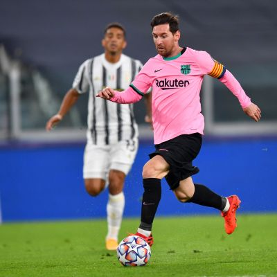 Lionel Messi oli hankala pideltävä Juventukselle.