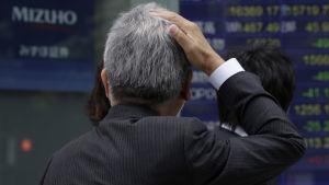 Turbulent på marknaden.