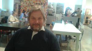Niko Lipsanen från Munkholmen-Ärtholmens boendeförening.