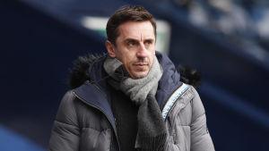 Tv-experten Gary Neville spelade för Manchester United mellan säsongerna 1992 och 2011.