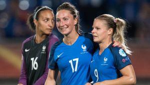 Frankrike inledde EM med en seger över Island.
