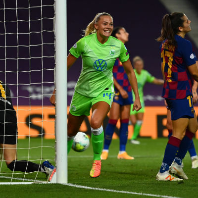 Fridolina Rolfö segerskytt mot Barcelona.