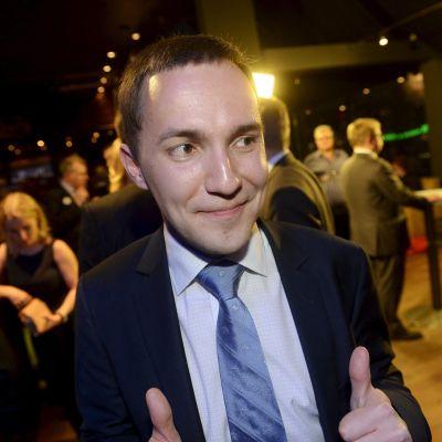 Samlingspartisten Ville Rydman