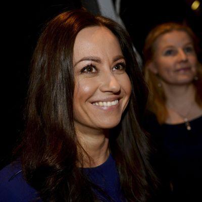 Samlingspartiets invalda Jaana Pelkonen.