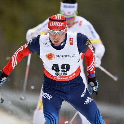 Alexander Legkov under VM i Falun.