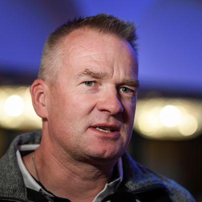 Matti Haavisto toimi Suomen päävalmentajana kaudella 2018–2019. Viime talvena hänen tittelinsä oli joukkueenjohtaja.