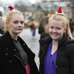 Två tjejer, Knullkörkortet på Glöggrundan 2017