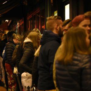 Kö till börs nightclub, Glöggrundan 2017