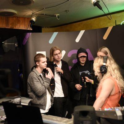 My Tengström intervjuar Hov1