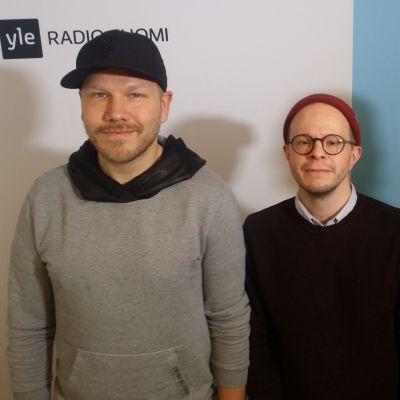 Osmo Ikonen, Veli Kauppinen ja Juha-Pekka Sillanpää Levylautakunnassa
