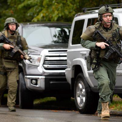 Polisen ingrep mot gärningsman i Pittsburgh