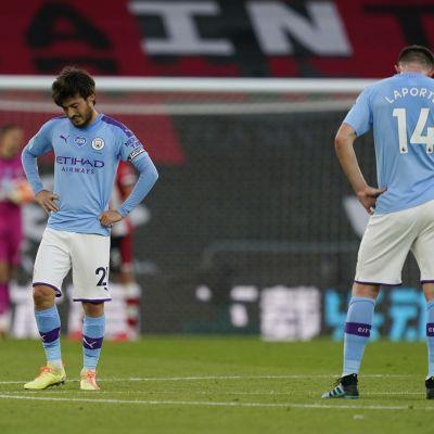 Lähes puolikentän laukaus oli liikaa Manchester Citylle