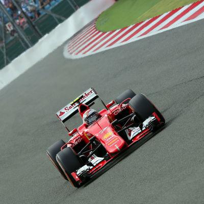 Kimi Räikkönen, Ferrari, juli 2015.