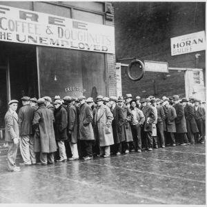 Soppajono 30-luvun laman aikaisessa Amerikassa