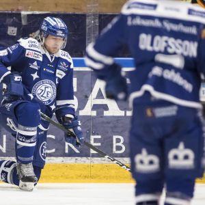 Joe Piskula spelade i fjol i Leksands IF.