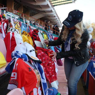 Fotbollsläktare i Vitryssland.