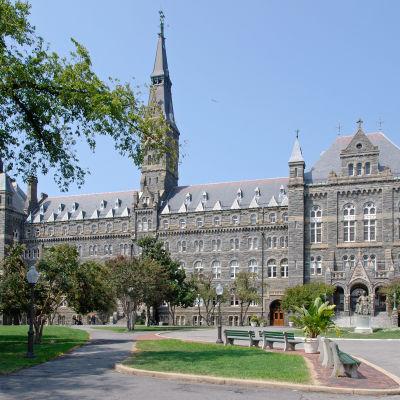Georgetown University ligger i Washington DC.