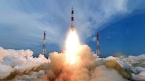 Indien har länge haft ett eget rymdprogram som bland annat har utvecklat kapacitet att skjuta upp satelliter i rymden