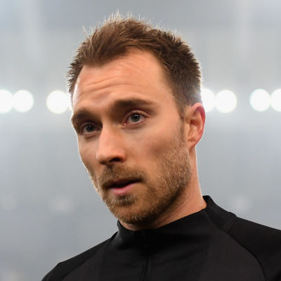 Jalkapalloilija Christian Eriksen.