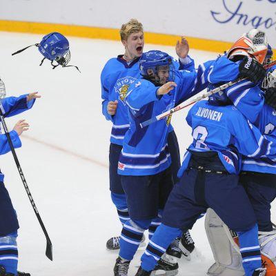 Finland vann U18-VM-brons, våren 2013