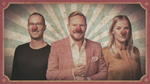 Magnus Hansen, Ted Urho och Lina Frisk.