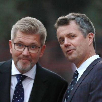 Köpenhamns överborgmästare (till vänster) på en arkivbild från september 2018, tillsammans med kronprins Frederik av Danmark.